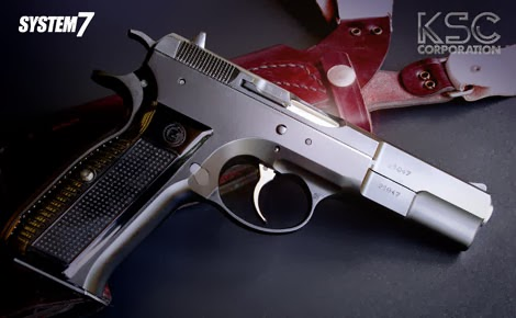 KSC Cz75ファーストバージョン 1st HW ガスガン エアガン 18歳以上用 サバゲー 銃 グッズ