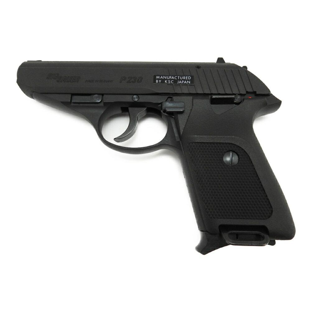 【3点セット】 KSC P230JP 発火モデルガン キャップ火薬 ダミーカート 日本警察拳銃