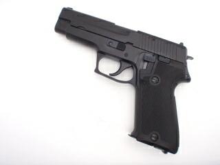 【エントリー全会員P10倍】 2点セット タナカ SIG P220 9mm拳銃 海上自衛隊仕様 HW Ver2 ガスガン エアガン 9mmダミーカート 18歳以上