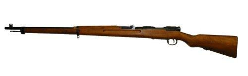 【エントリー全会員P10倍】 2点セット タナカ 三八式歩兵銃 ガスガン ライフル Ver2 グレイスチールフィニッシュ 日本軍 木製ストック 銃口覆 サバゲー 銃 38式歩兵銃 18歳以上