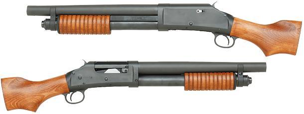 タナカ M1897 ソードオフ ソウドオフ モデルガン Ver2 ショットガン 銃 WW2