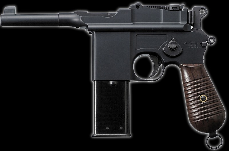 マルシン モーゼル M712 HW ヘビーウエイト 6mmBB ショートバレル ブローバック ガスガン