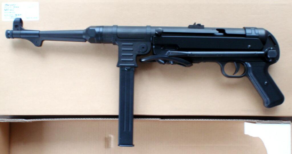 マルシン シュマイザー MP40 完成品 HW モデルガン