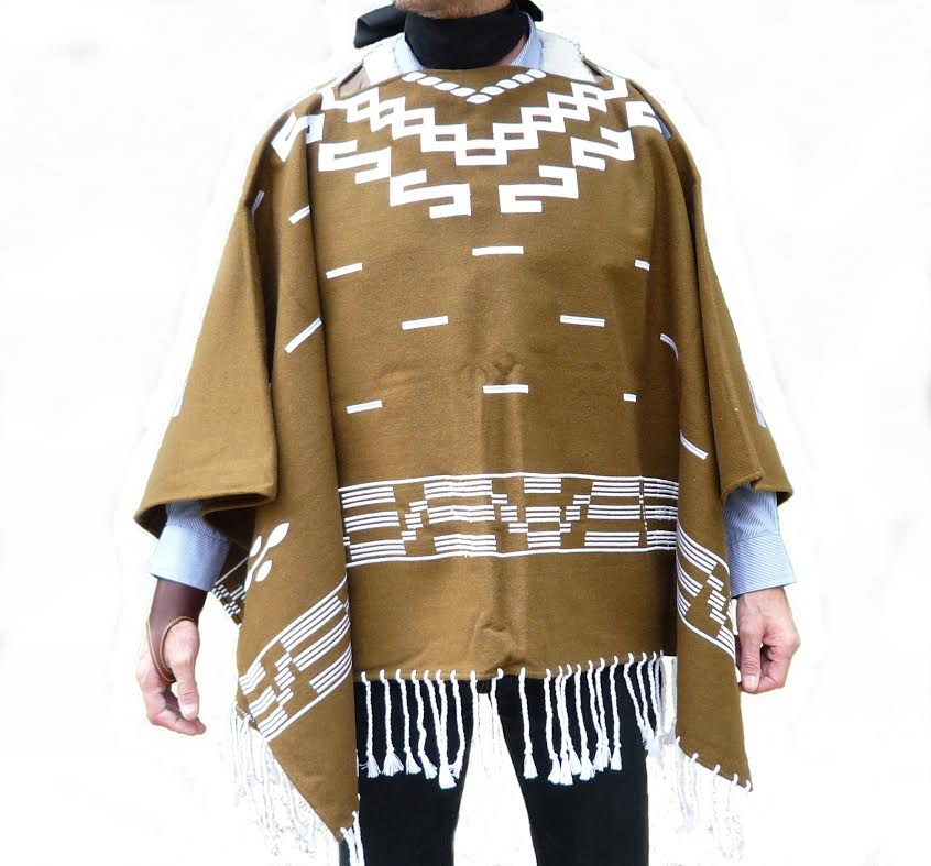 79f9fe11e Gunman highest grade poncho wool 100% of Clint Eastwood setting sun gold