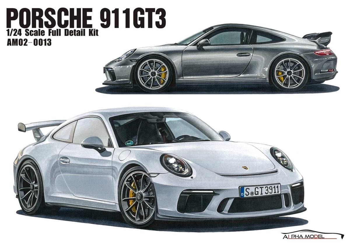 巣ごもりには、ポルシェ911 GT3 フルレジンキット!!! ホビーデザイン HOBBY DESIGN Alpha model アルファモデル 1/24 ポルシェ 911 GT3 フルレジンキット (am02-0013)