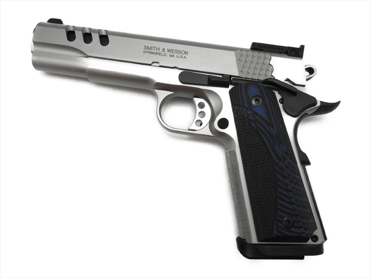 【エントリー全会員P10倍】 BWC 発火 モデルガン S&W SW1911 PC シルバー Performance Center 45ACP 銃 新品