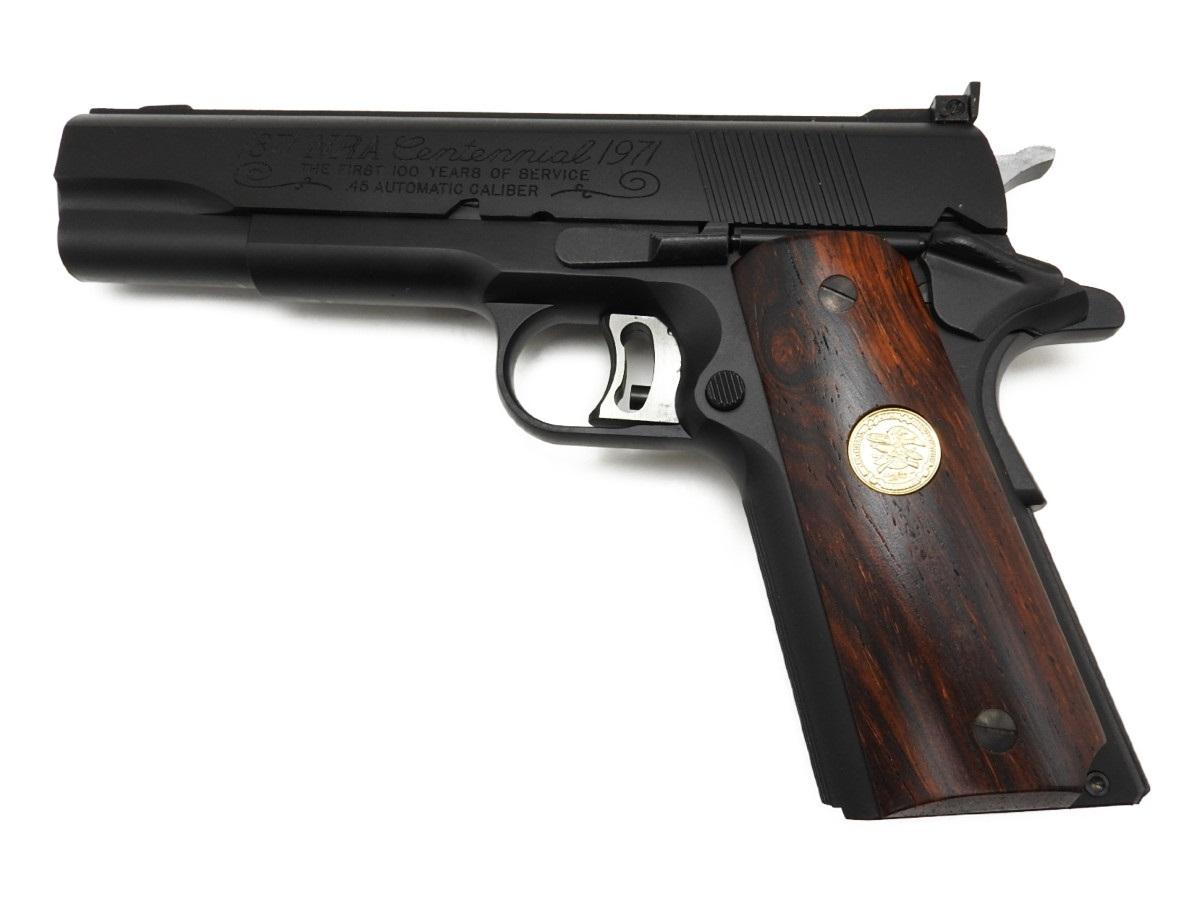 CAW コルト NRA National Match ナショナルマッチ 45Auto オート M1911 発火モデルガン ブローバック