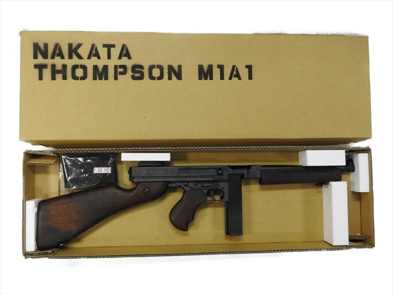 中古品 中田商店 トンプソン 無可動実銃 払下げ品 木製ストック フォアグリップ 銃