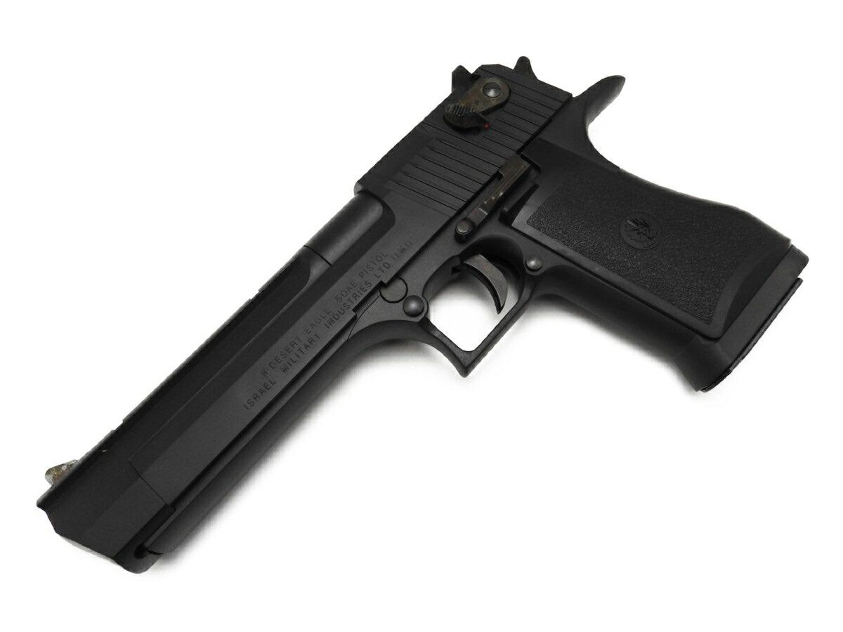 【エントリー全会員P10倍】 中古 ハドソン デザートイーグル ブラック HW IMI 発火 モデルガン カートリッジ 6発付 銃 未発火