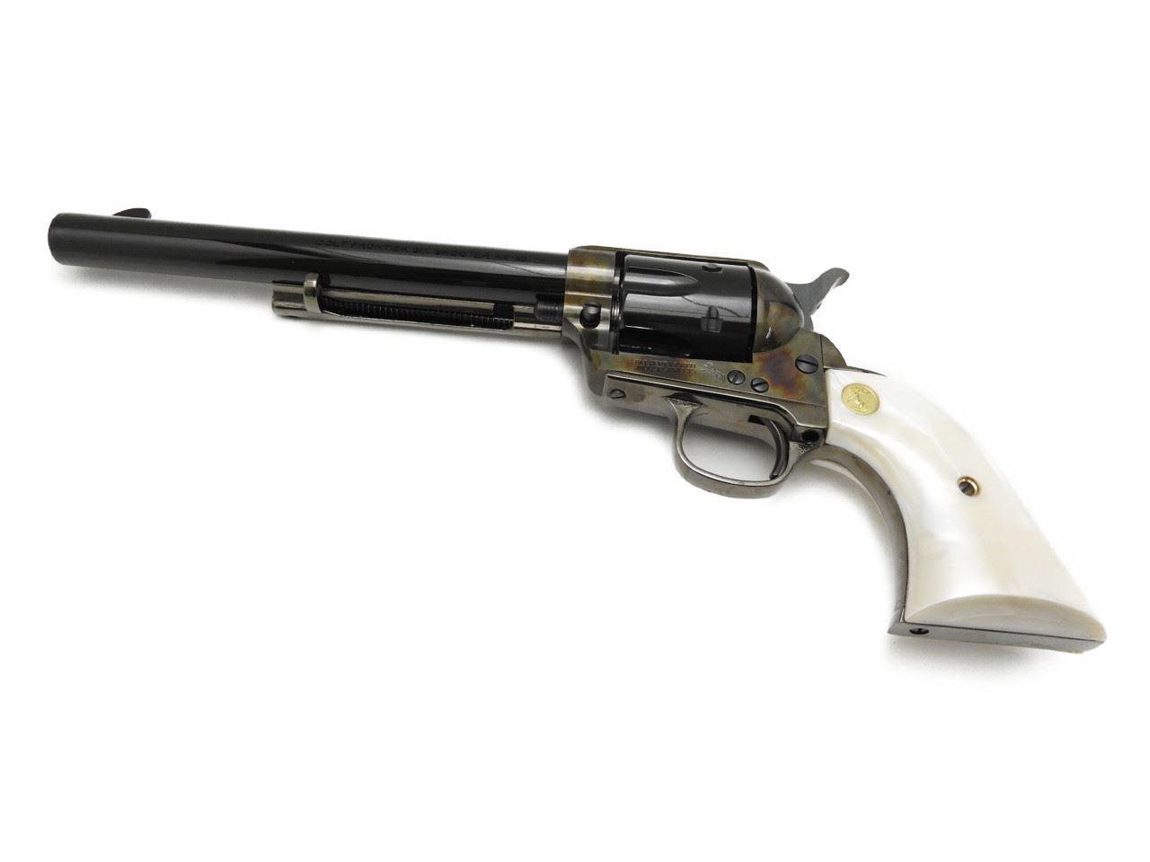 【エントリー全会員P10倍】 HWS ハートフォード コルト Colt SAA45 ケースハードン カスタム キャバルリー 発火式 モデルガン