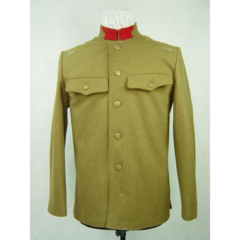 旧日本軍 日本陸軍 昭五式軍衣 軍服 ウール 高級複製品 サバゲー