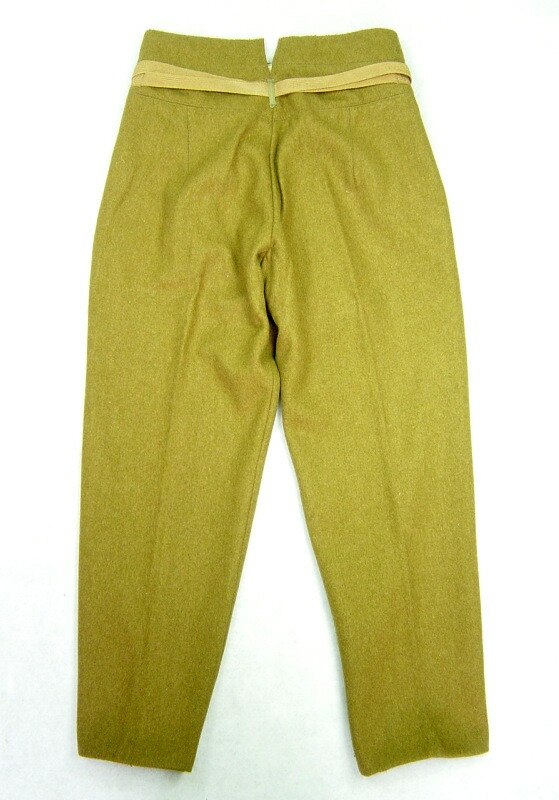 日本陸軍 昭五式軍衣 軍服 長袴 ズボン ウール 高級複製品 サバゲー