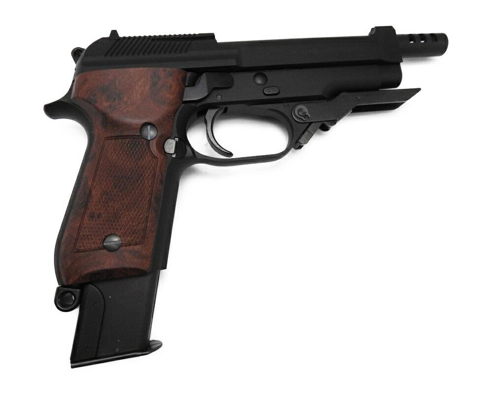 4点セット KSC M93RII M93R2 ブローバック ガスガン エアガン 銃 グッズ サバゲー ベレッタ フォールディングストック 18歳以上用 新品