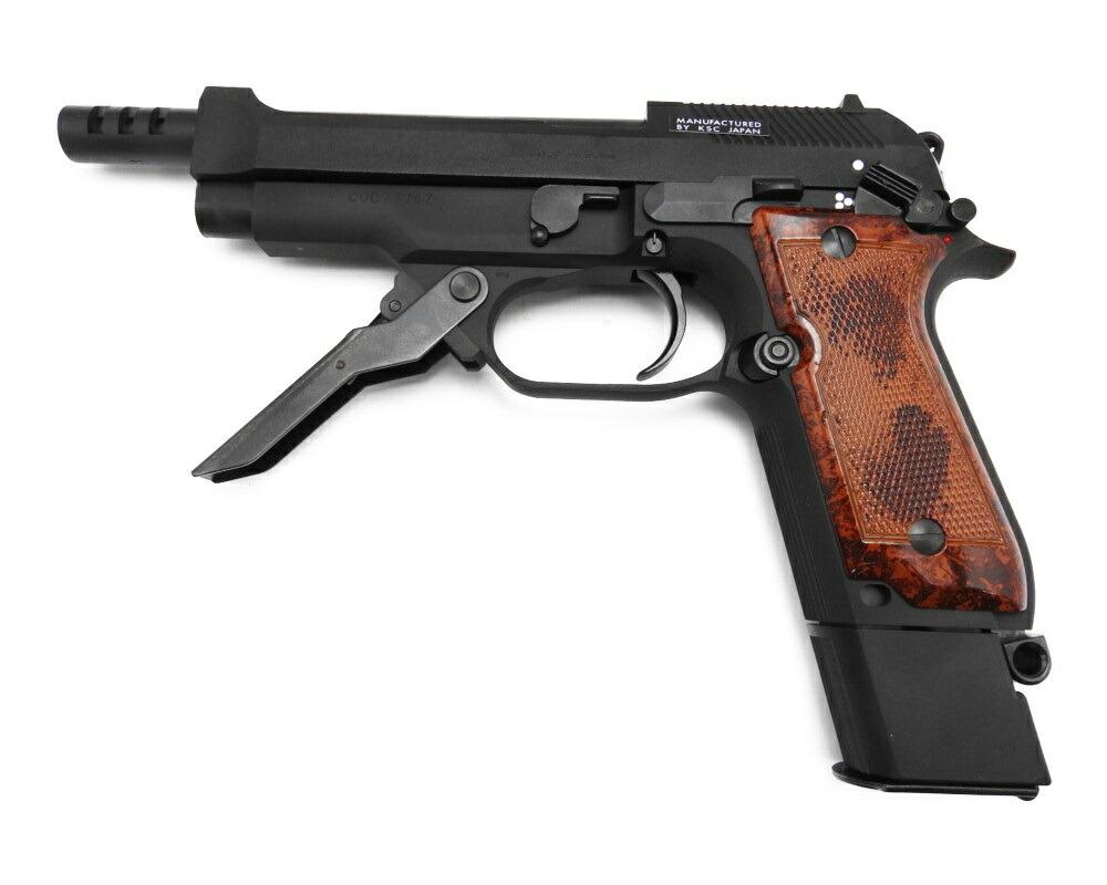 【エントリー全会員P10倍】 KSC M93R モデルガン 1st HW 発火 ブローバック 3点バースト ベレッタ 銃 新品