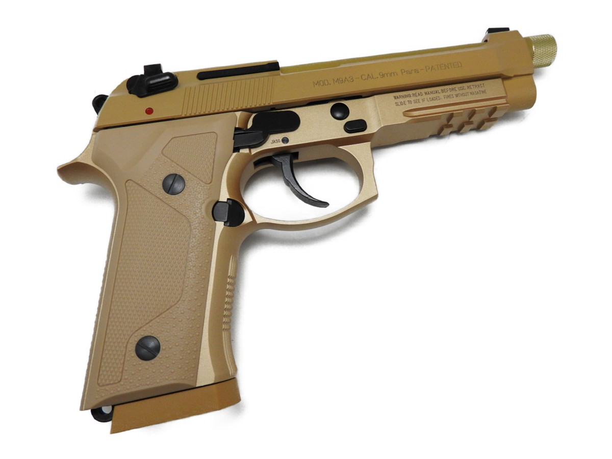 【エントリー全会員P10倍】 KSC M9A3 Type F HW タンカラー ガスガン ガスブローバック 銃 サバゲー ベレッタ 18歳以上