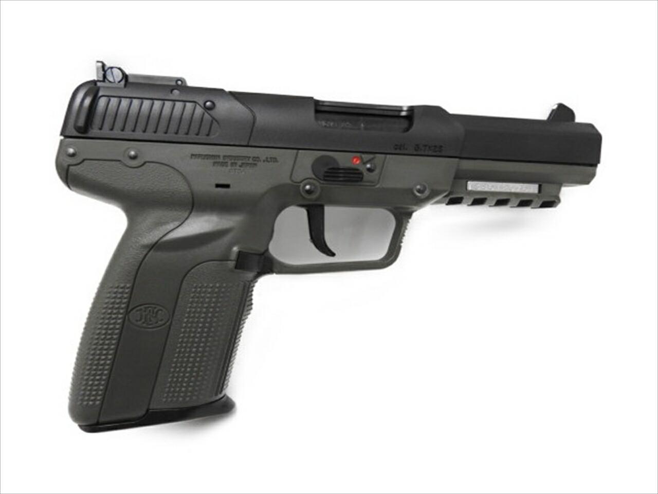 マルシン FN5-7 CO2 ガスガン アルミピストン ODカラー ガスブローバックガン 6mmBB弾 エアガン 新品