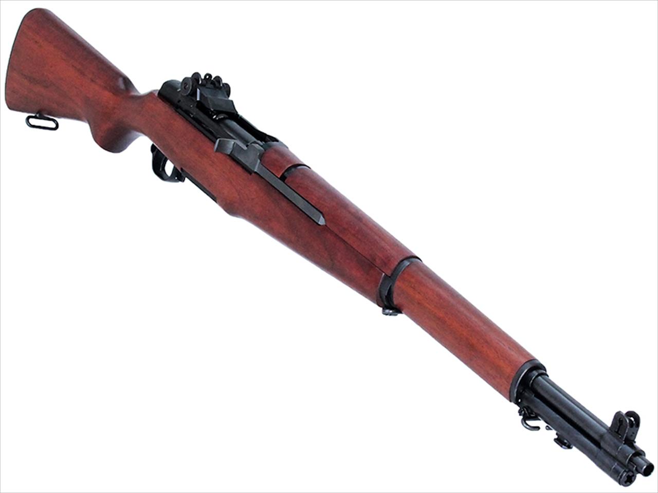 【エントリー全会員P10倍】 マルシン US M1ガーランド ガスライフル ウォルナット ストック 6mm BB弾 ガスガン ライフル 18歳以上 サバゲー 銃