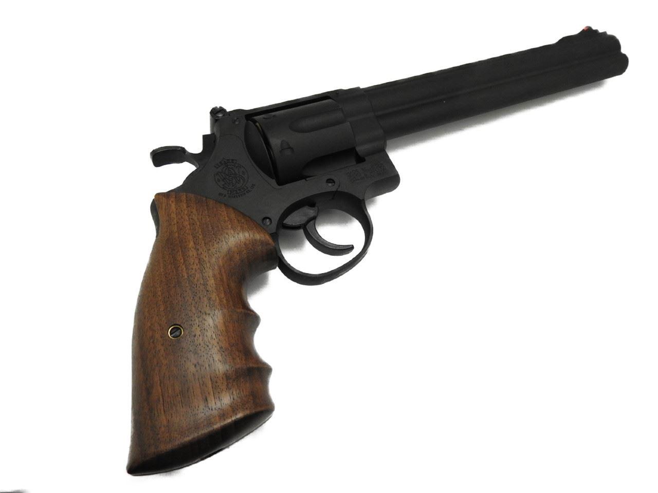 【エントリー全会員P10倍】 マルシン M29 8-3/8インチ ブラック HW 木製グリップ ガスガン ガスリボルバー クラシック エアガン 18歳以上