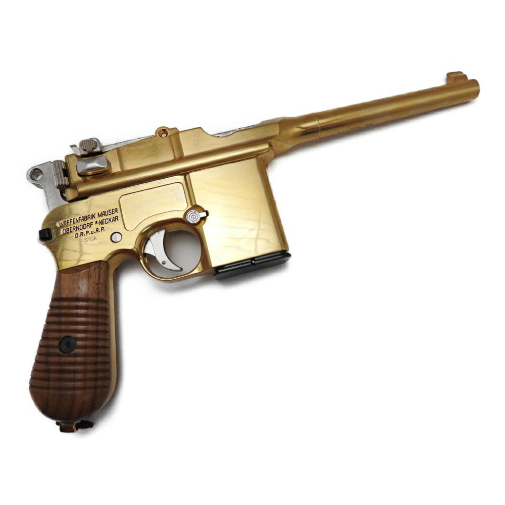 マルシン ドイツ軍 モーゼル M712 徳国製刻印 金メッキ ブローバック 金属モデルガン 銃