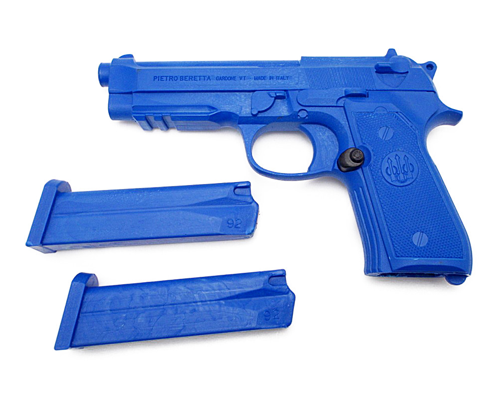 Beretta M9A1 M92F トレーニング ピストル ブルーガン マガジン2本付 脱着可 ベレッタ社 実物