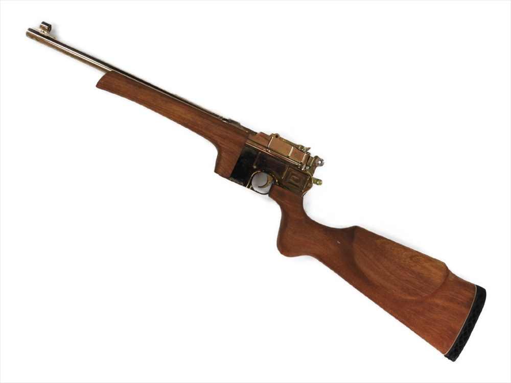 【エントリー全会員P10倍】 MGC モデルガン C96 金属モデルガン マウザー M712 木製ストック ドイツ軍 美品