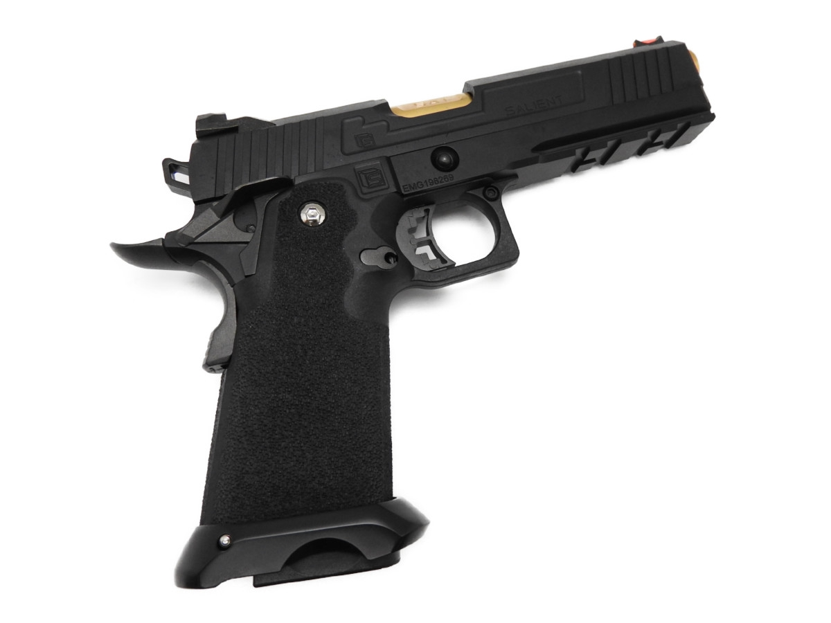 【エントリー全会員P10倍】 EMG SAI RED-H Hi-Capa ハイキャパ ガスブローバック ガスガン 銃 Salient Arms International 18歳以上 285417