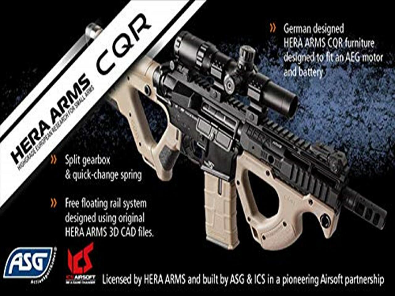 HERA ARMS CQR 電動ガン ICS AIRSOFT ASG SSS サバゲー ライセンス品 6mmBB エアガン 18歳以上 新品