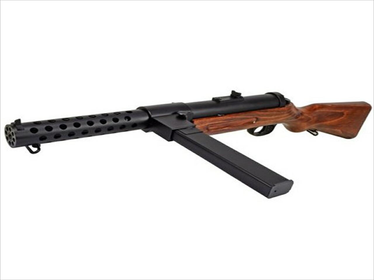 【エントリー全会員P10倍】 ARROW DYNAMIC 電動ガン MP18 ベルグマン 短機関銃 ドイツ軍 サバゲー 木製ストック 害獣駆除 銃 エアガン 18歳以上 新品