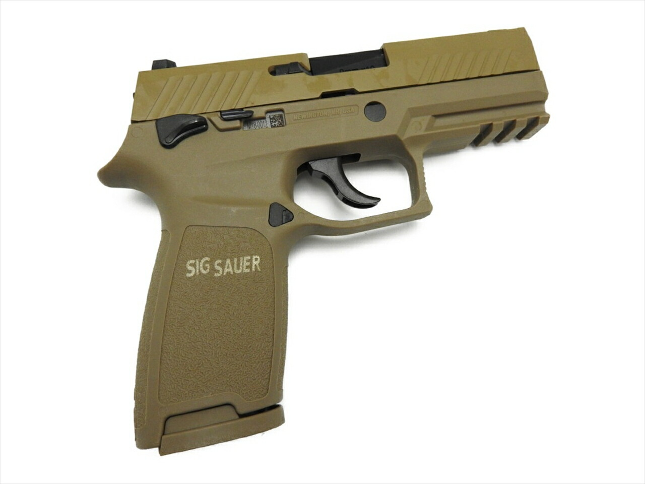 【エントリー全会員P10倍】 AEG シグ P320 M18 コンパクト 日本国特殊作戦群 刻印 SIG SAUER ガスガン エアガン タン 18歳以上 18禁 銃