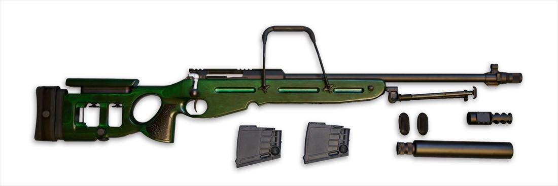 【エントリー全会員P10倍】 Raptor SV98 SV-98 DX スナイパー ライフル エアーコッキング 木製ストック フルメタル 狙撃銃 エアガン 18歳以上
