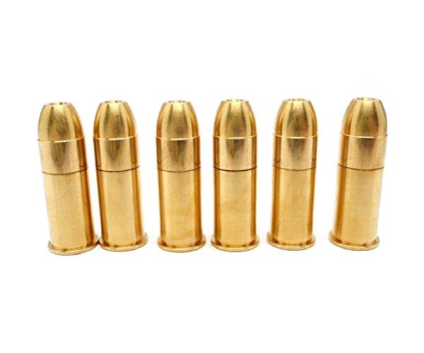 SAA45用ダブルキャップカートリッジで爆音を楽しんで HWS ハートフォード 特別セール品 発火式 モデルガン ダブルキャップ SAA45 カートリッジ 6発入り 銃 人気ブランド多数対象 ウエスタン Wキャップ