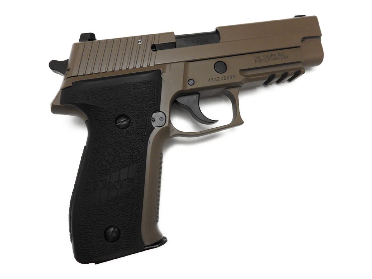 【エントリー全会員P10倍】 タナカ SIG P226 MK25 EVO2 フレーム HW デザート セラコート 発火式 ブローバック モデルガン 9mmパラベラム