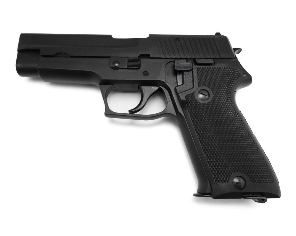 モデルガン P220 9mm拳銃 海上自衛隊 SIG SAUER 発火式 銃 エボリューション