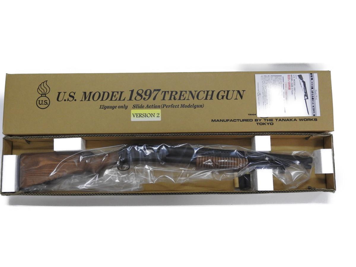 タナカ M1897 トレンチガン モデルガン Ver2 ショットガン 銃 WW2