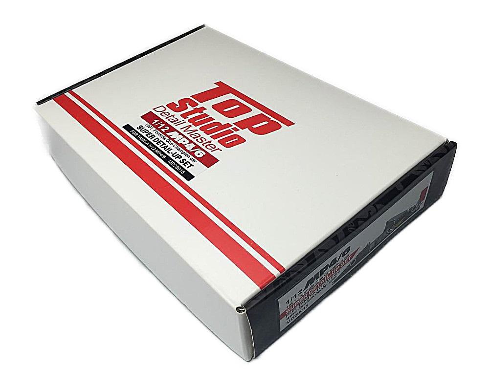 Top Studio 1/12 マクラーレン MP4/6 スーパーディティールアップ セット レジン エッチングパーツ MD29015
