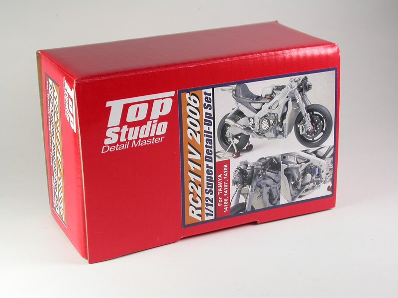 Top Studio ホンダ RC211V 2006スーパーディティールアップセット タミヤ 1/12 MD29004
