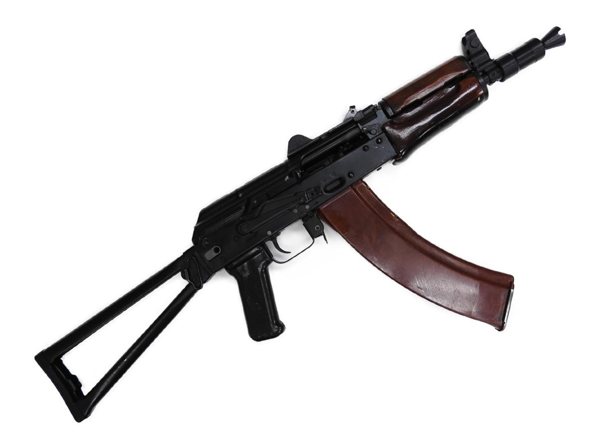【中古品】ロシア ソビエト軍 クリンコフ AKS74U 無可動実銃 無可動銃 合法品 空挺部隊 特殊部隊