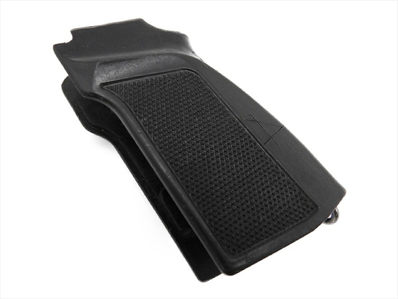 中古品 マカロフ PM 実銃用 ブラック オリジナル グリップ 本物 エアガン モデルガン