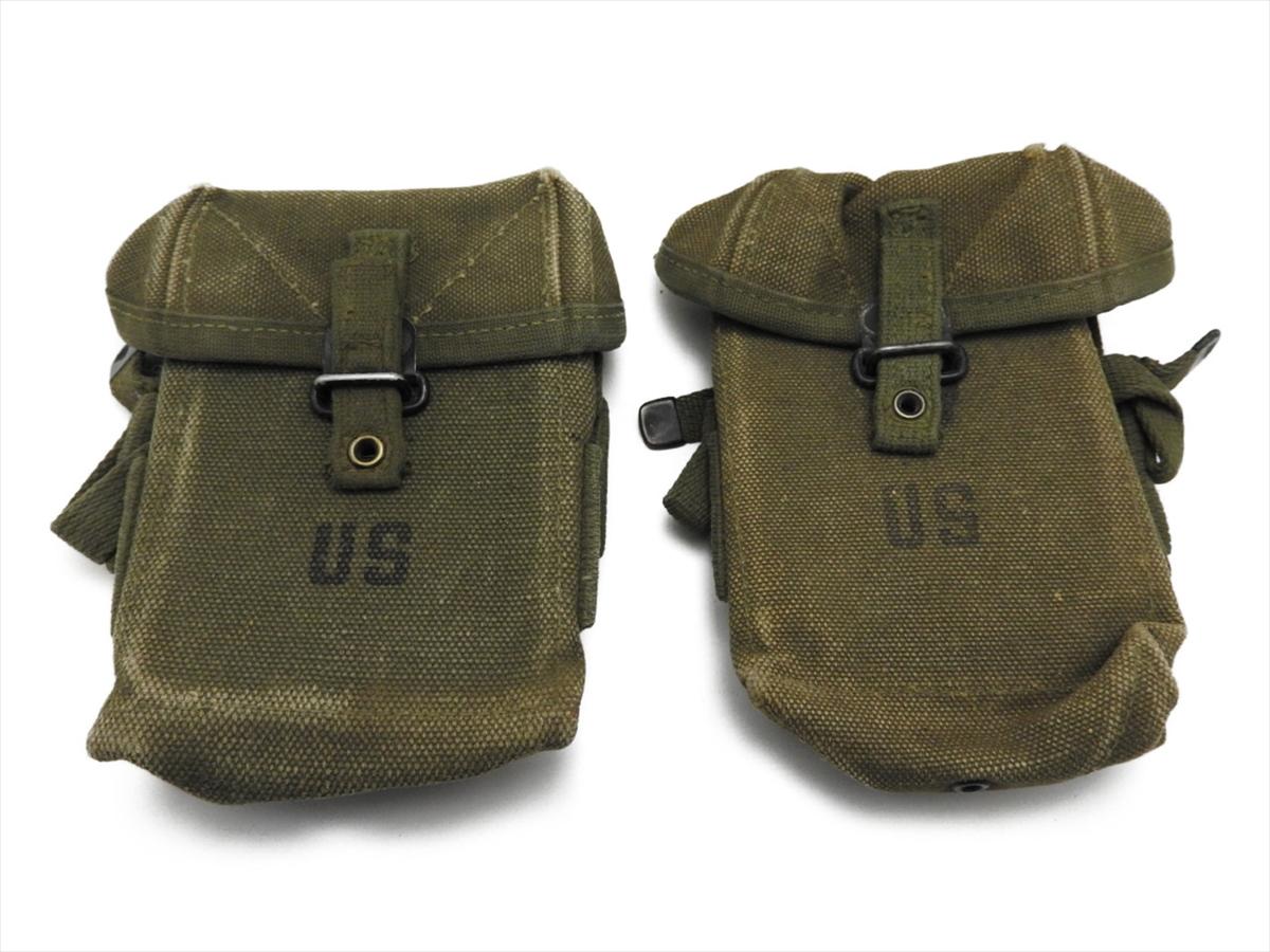 【エントリー全会員P10倍】 M16A1 XM177 マガジンポーチ 20連 1st US Army USMC M1956 M56 初期型 ベトナム戦争 サバゲー 2個 個人装備