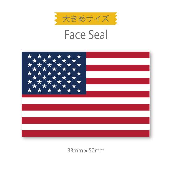 スポーツ観戦やフェス イベントに マスクシールにも アメリカ国旗 大きめサイズ おすすめ特集 安心の実績 高価 買取 強化中 医療テープタイプ 星条旗 フェイスペイントシール