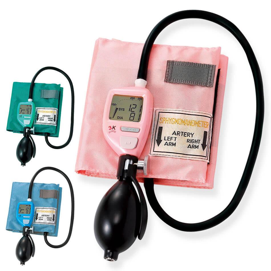 12298 サンケイデジタルアネロイド血圧計【ナース 小物 グッズ 看護 医療 介護 計測】