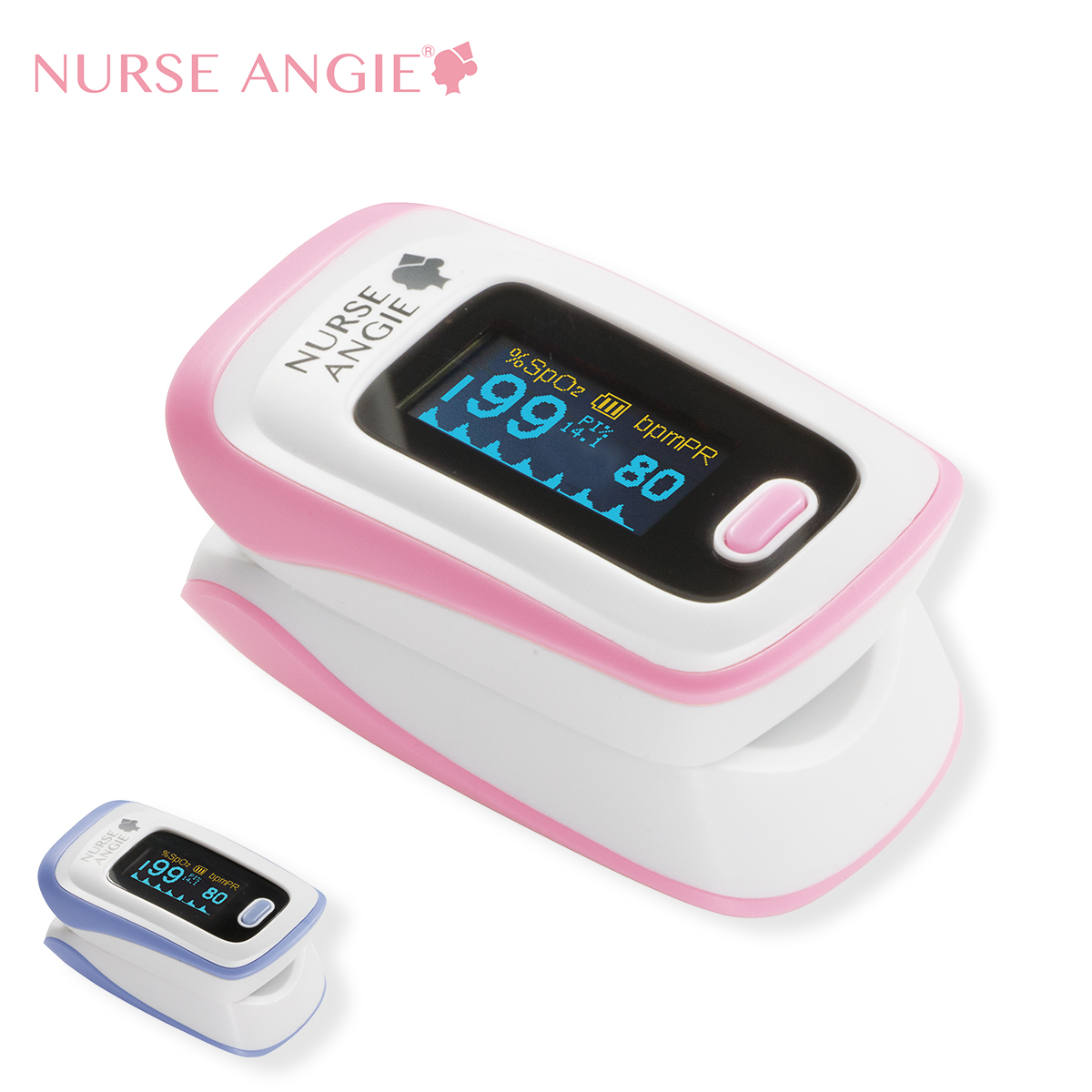13676 NURSE ANGIE 酸素飽和度メータ【ナース 小物 グッズ 看護 医療 介護 計測】