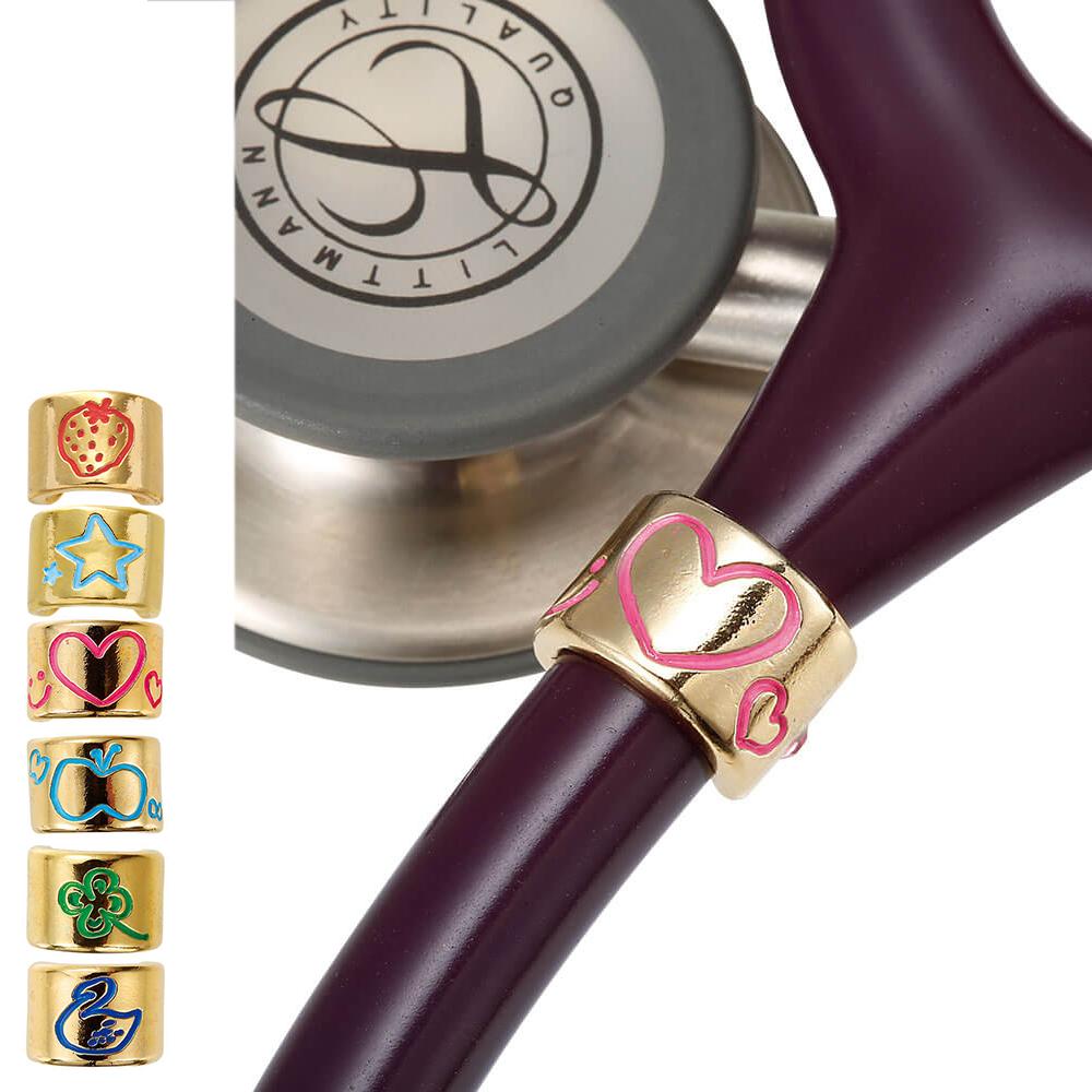 心ときめく小さなラッキー わたしの聴診器はこれが目印 14840 naosudou 聴診器チャーム ナース 小物 看護 爆安プライス グッズ 聴診器 再入荷 予約販売 ステート ナースリー 医療