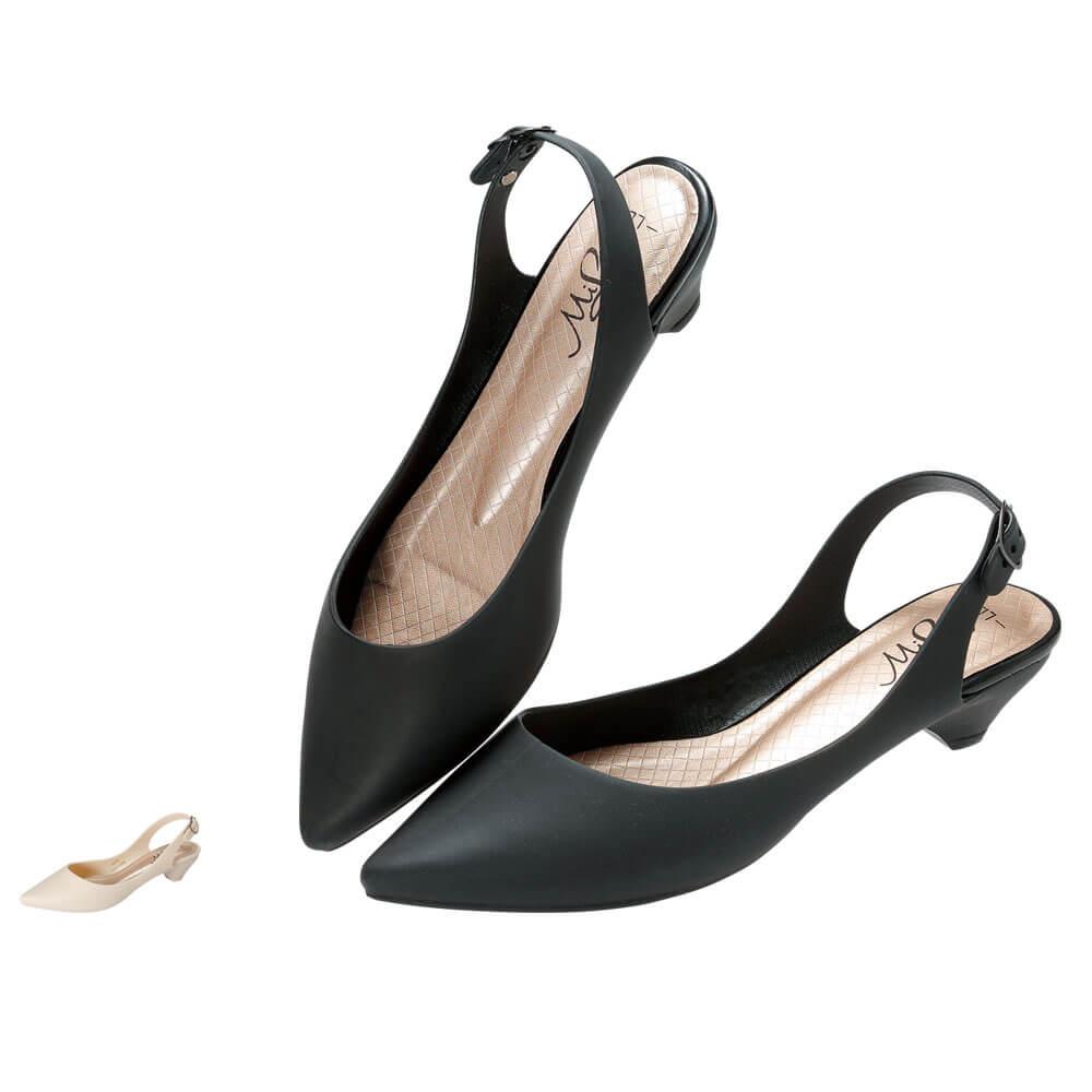 14914 ミレディ レインパンプス ML783【ナースシューズ 看護 介護 ケア PVC 靴】
