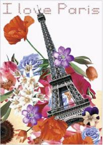 フランス製ポストカード エッフェル塔 捧呈 フランス直輸入 ポストカード 贈答