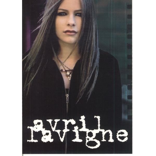 ポストカード AVRIL 世界の人気ブランド LAVIGNE 返品送料無料