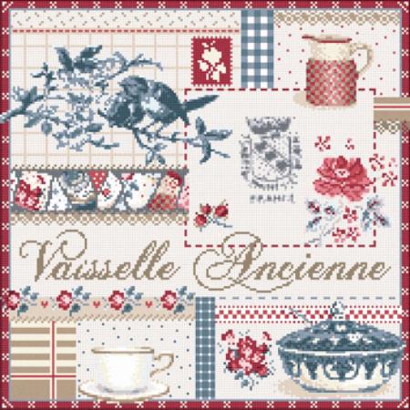 Vaisselle Ancienne(ヴィンテージ食器) アイーダ