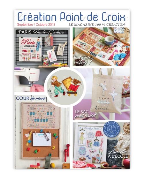 Æ¥½å¤©å¸'å´ Creation Point De Croix 2018å¹´9 10月号 ¯ロスステッチ洋書 ³コロ商店
