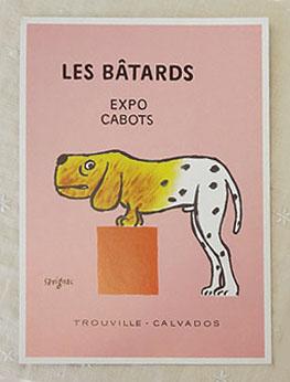 至上 フランスサビニャックポストカード ビックサイズ フランスポストカード 新品未使用正規品 BIG savignac 犬の博覧会