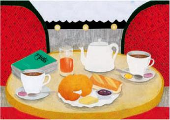 激安通販販売 フランスより輸入のポストカードフランス 直送商品 カフェ フランス直輸入 ポストカード フランスカフェ